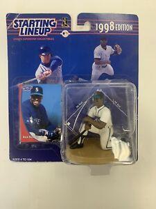1998 MLB STARTING LINEUP KEN GRIFFEY JR (KNEELING)