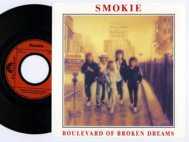 "Smokie - Boulevard Of Broken Dreams - 7"" Vinyl Single"