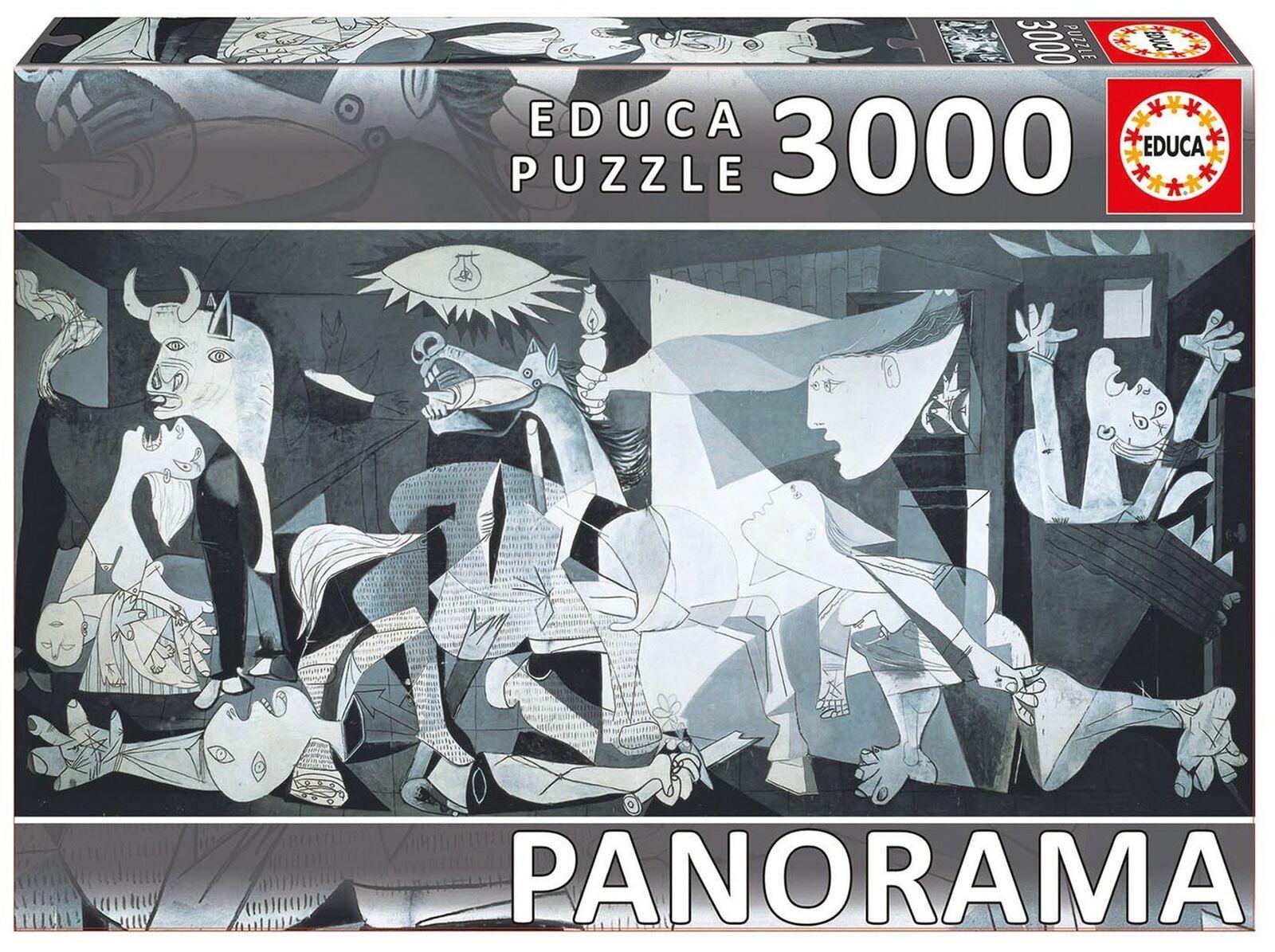 connotazione di lusso low-key Educa 11502-Guernica, PABLO PICASSO - 3000 PEZZI-SERIE Panorama Panorama Panorama Puzzle  consegna gratuita e veloce disponibile