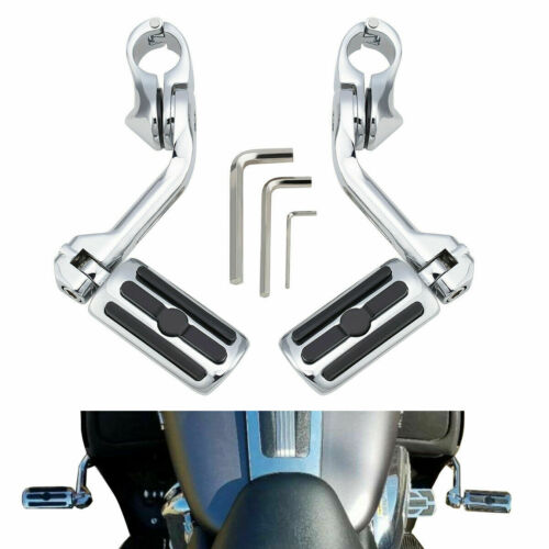"""32mm 1.25/"""" Highway Engine Guards Foot Pegs For Harley Electra Road Glide Honda"""