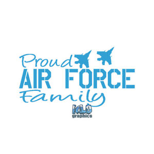 PROUD NATIONAL GUARD FAMILY Sticker Sister Brother Mother Father Wife Husband