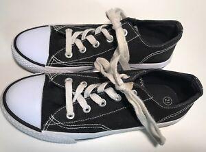 e3a9ff0583e4 Image is loading Childrens-Kids-Unisex-Airwalk-Tennis-Shoes-Sneakers-Black-