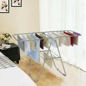 Stainless-Steel-Clothes-Drying-Rack-Folding-Laundry-Rack-Towel-Drying-Hanger