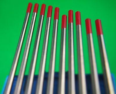 Pure Tungsten Electrodes 2.4mm WP 99.2/% Pure Tungsten Free Post Australia Wide
