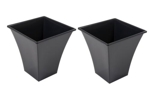 Vasi, cestini e fioriere 2 X Large Nero delle Piante Vasi ...