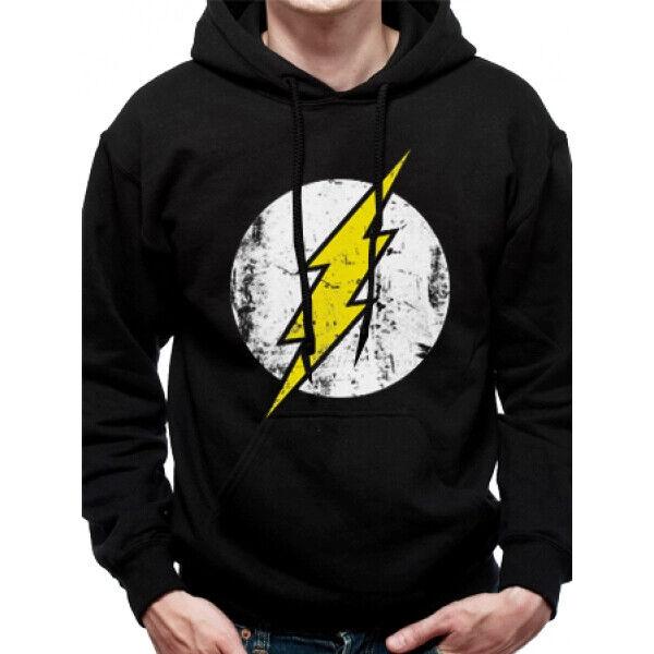 The Flash Logo Black Hoodie