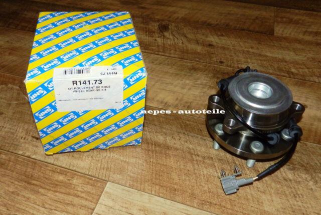1 x SNR R173.14 Radlagersatz VA NISSAN NP300 NAVARA (D40)