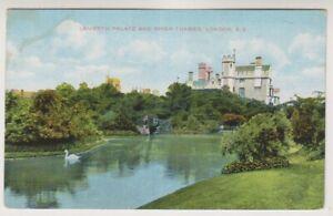 Londra-Cartolina-Lambeth-Palace-amp-Fiume-Tamigi-Londra-P-U-A1582