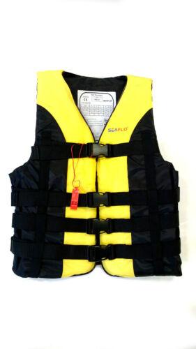 SEAFLO 50N BUOYANCY AID HIGH IMPACT VEST KAYAK CANOEING WATERSPORT LIFE JACKET
