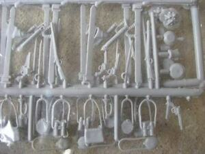 Marx-Civil-War-Weapons-Accessory-Set-54MM-1-32-toy-Soldier-Playset-musket-sword