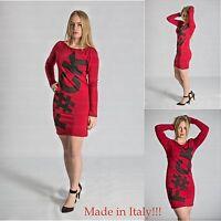 New Women Long Sleeve Ladies Tunic Dress Bodycon Sexy Party bnwt size 8 10 12