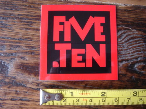 5.10 FIVE TEN Rock Climbing Shoes STICKER Decal NEW