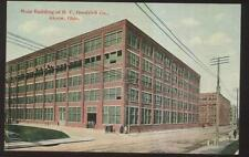 Postcard AKRON Ohio/OH  BF Goodrich Tire Main Factory/Plant Buildings 1907