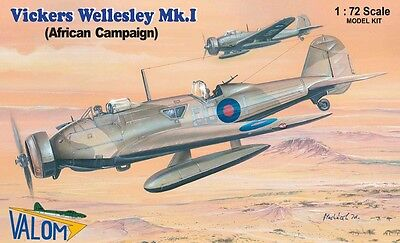 Valom Models 1/72 Vickers Wellesley Mk.I (African campaign) Model Kit