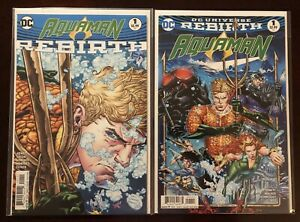 Aquaman-Rebirth-Lot-Of-25-Books-Issues-1-18-And-25-30-DC-Comics-2016