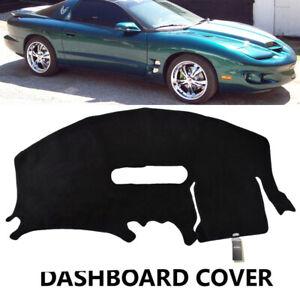 Dash-Mat-Dashboard-Cover-For-Pontiac-Firebird-Trans-AM-1997-2002-Black