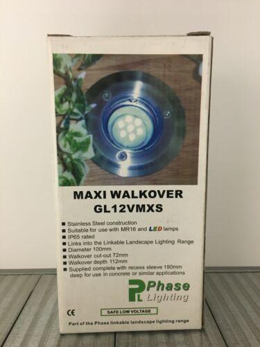 Fase illuminazione GL12VMXS Acciaio Inox WALKOVER Luce Montaggio IP65