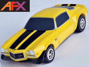 AFX 1970 Chevy Camaro Z28 Yellow HO Slot Car Mega G+ MegaG+ Tomy AFX21048 21048