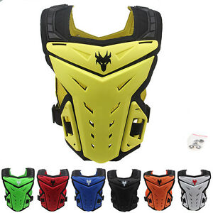 Men's Motocross Motorbike Body Armour Gear Racing Chest Protector Shin Knee Pads