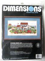 Dimensions Wysocki Summer Haven Inn Cross Stitch Kit Sealed 1991