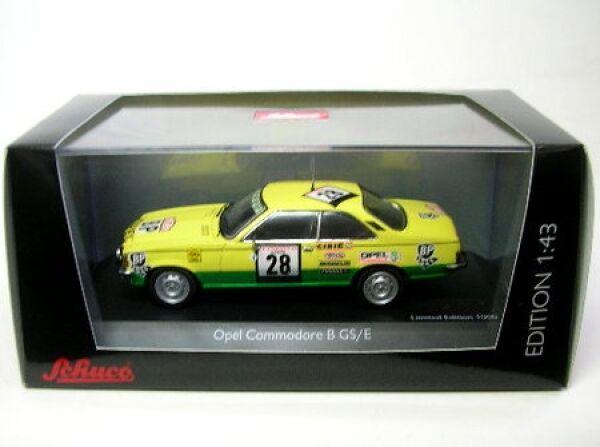 OPEL Commodore B GS E No. 28 tour de course 1974