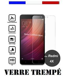 Protecteur-d-039-Ecran-pour-Xiaomi-Redmi-4X-Verre-Trempe-Premium-9H