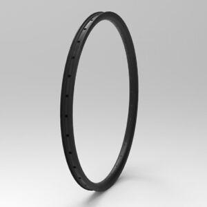 "SALE Asymmetric 27mm Width 29/"" MTB Mountain Clincher Rim Tubeless 1PAIR"