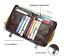 Men Genuine Leather Cowhide Wallet Bifold RFID Credit Card Holder Zipper Purse