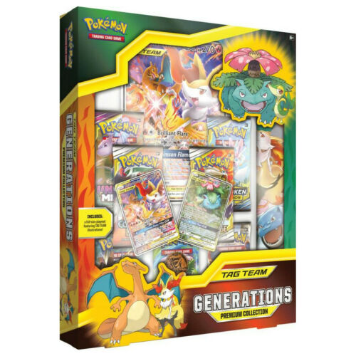 Tag Team Generations Premium Collection Box Pokemon TCG New /& Sealed