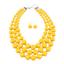 Women-Bohemian-Choker-Chunk-Crystal-Statement-Necklace-Wedding-Jewelry-Set thumbnail 140