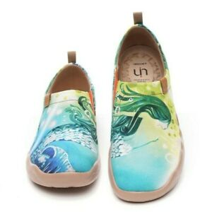 UIN Women's Painted Travel Shoes Loafer