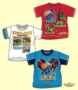 8428a50b5acec3 tolles T-Shirt GORMITI Shirt Sommer Jungs 104 110 11 128 140 NEU