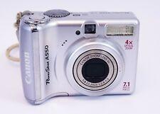 SD Memory Card Canon Powershot A610 Digital Camera Memory Card 2X 2GB Standard Secure Digital 1 Twin Pack