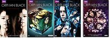 ORPHAN BLACK The Complete Season 1 2 3 4 DVD Sets 1-4 First Second Third Fourth
