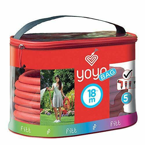 FITT YOYO BAG Extendable and Flexible Garden Water Hose Pipe with Practical Case