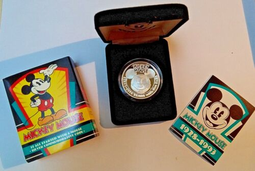 Mickey Mouse Commemorative Coin 65 Years with the Ears