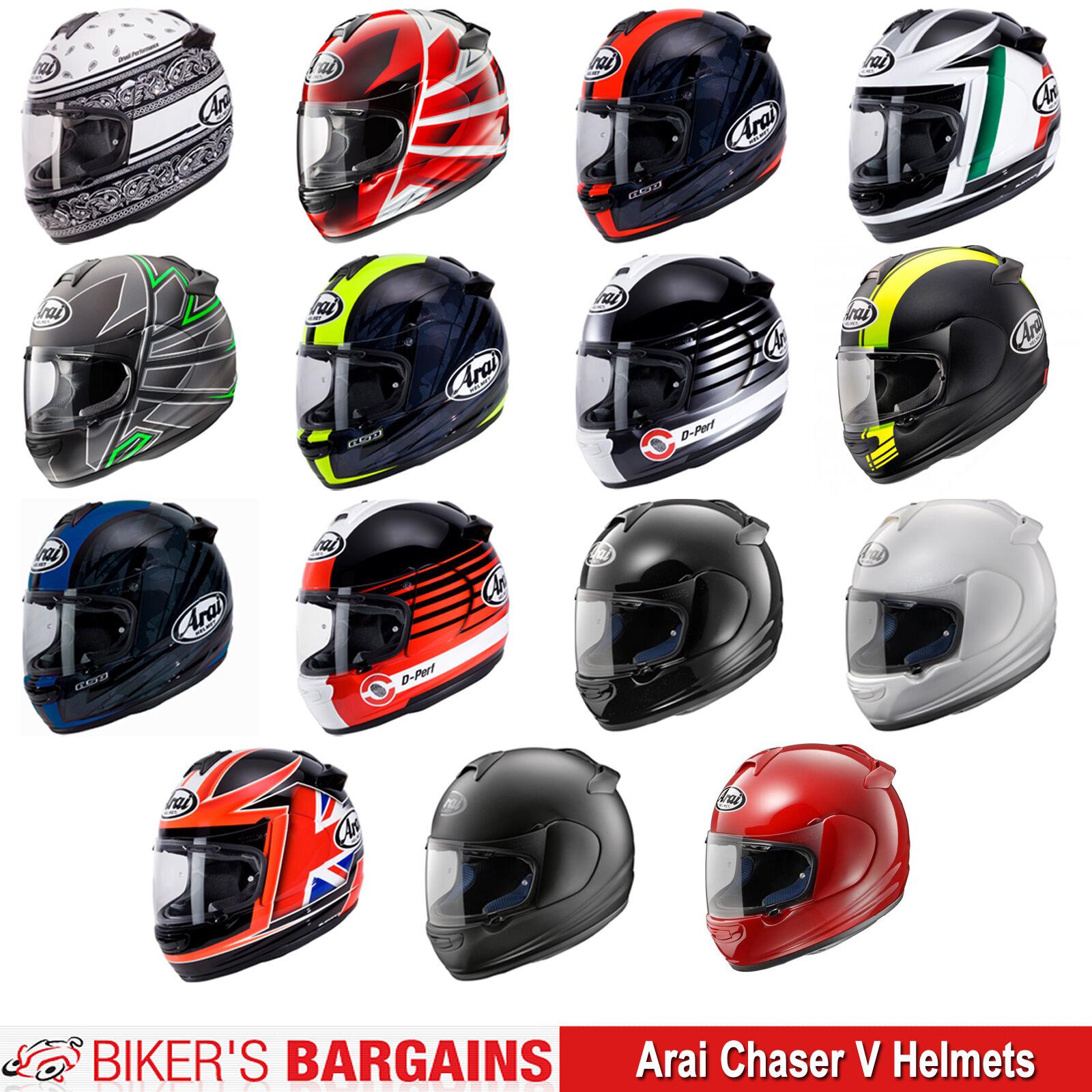 c91fef73 Helmet Full-face Arai Chaser V Eco Pure Ribbon White XL | eBay