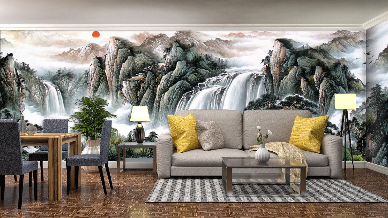 3D Landscape 7449 Wallpaper Mural Wall Print Wall Wallpaper Murals US Summer