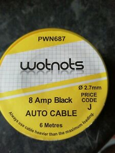 WOT-NOTS-1-CORE-CABLE-BLACK-6M-8A-PWN687-TOP-QUALITY-ITEM
