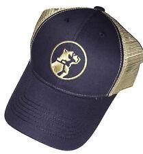 4879487e57f6a item 8 Mack Trucks Navy Blue   Khaki Tan Bulldog Logo Trucker Mesh Cap Hat -Mack  Trucks Navy Blue   Khaki Tan Bulldog Logo Trucker Mesh Cap Hat