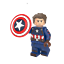 miniature 28 - MARVEL AVENGERS DC COMICS Minifigure custom tipo Lego Batman Superman venom BIG