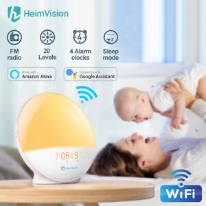 Wake Up Light Sunrise Alarm Clock for Kids
