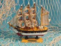 Holz Schiff Passat, 16 Cm Oder 24 Cm, Modellschiff, Maritime Deko