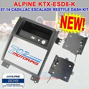 Details about ALPINE KTX-ESD8-K RESTYLE DASH KIT FOR 8