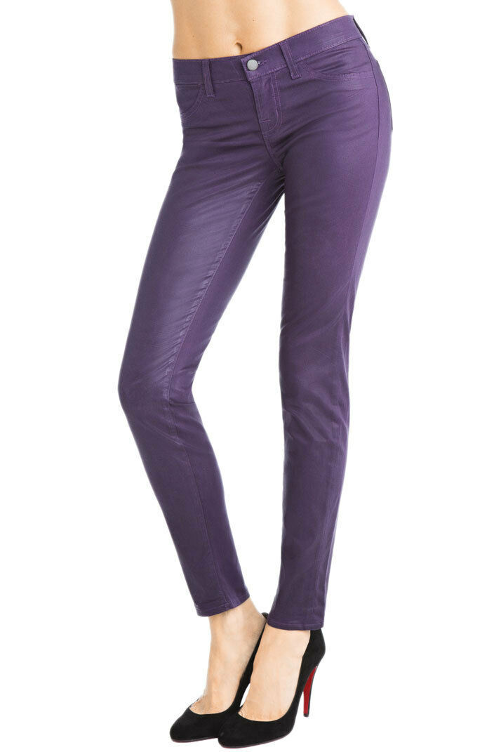 J Brand 901 Low-Rise Coated Legging - Size 26