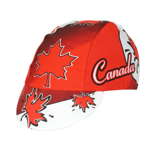 CANADA TEAM CYCLING CAP NEW BIKE RIDE HAT **