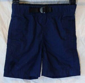 Garcons-GAP-bleu-marine-fonce-synthetique-ceinture-reglable-a-la-Taille-Short-Chino-Age-3-Ans