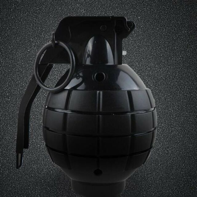 Durable Toy Grenade Toy Ammo Game Bomb Launcher Blast Replica Military AZ
