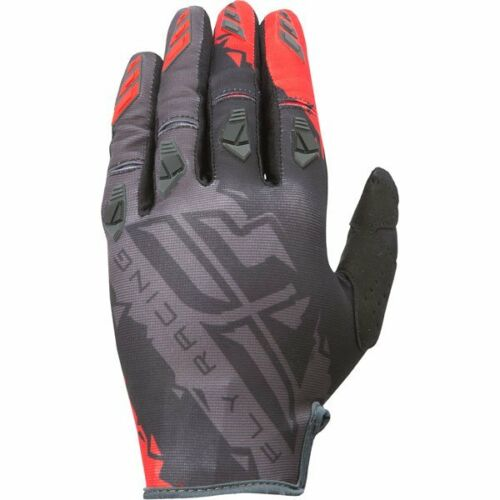 FLY RACING KINETIC GLOVES RED//BLACK