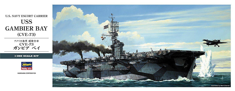 Hasegawa 1/350 USS Gambier Bay CVE-73 40027